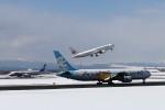 GRX135さんが、新千歳空港で撮影したAIR DO 767-381の航空フォト(写真)