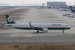 MOHICANさんが、関西国際空港で撮影したエバー航空 A321-211の航空フォト(写真)