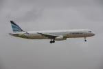 よしポンさんが、成田国際空港で撮影したエアプサン A321-231の航空フォト(写真)