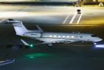 あしゅーさんが、羽田空港で撮影したウェルズ・ファーゴ・バンク・ノースウェスト G-V-SP Gulfstream G550の航空フォト(写真)