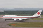 安芸あすかさんが、新千歳空港で撮影した航空自衛隊 747-47Cの航空フォト(写真)