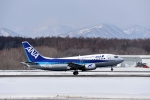 バーダーさんさんが、新千歳空港で撮影したANAウイングス 737-54Kの航空フォト(写真)