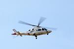 うさぎぱぱさんが、鹿児島空港で撮影したユーロテックジャパン A109E Powerの航空フォト(写真)