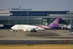 Mochi7D2さんが、羽田空港で撮影したタイ国際航空 747-4D7の航空フォト(写真)