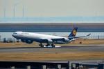 Mochi7D2さんが、羽田空港で撮影したルフトハンザドイツ航空 A340-642の航空フォト(写真)