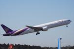 神宮寺ももさんが、成田国際空港で撮影したタイ国際航空 777-3D7の航空フォト(写真)