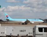 職業旅人さんが、成田国際空港で撮影した大韓航空 A330-323Xの航空フォト(写真)