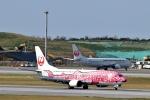 りゅうさんさんが、那覇空港で撮影した日本トランスオーシャン航空 737-446の航空フォト(写真)
