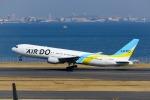 Mochi7D2さんが、羽田空港で撮影したAIR DO 767-33A/ERの航空フォト(写真)