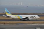 ぬま_FJHさんが、羽田空港で撮影したAIR DO 767-33A/ERの航空フォト(写真)