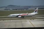 職業旅人さんが、クアラルンプール国際空港で撮影したマレーシア航空 737-8H6の航空フォト(写真)