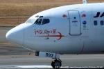 tabi0329さんが、福岡空港で撮影した日本トランスオーシャン航空 737-446の航空フォト(写真)