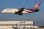 Keitaro Narushimaさんが、成田国際空港で撮影したタイ国際航空 A380-841の航空フォト(写真)