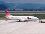 プルシアンブルーさんが、山形空港で撮影した日本トランスオーシャン航空 737-4Q3の航空フォト(写真)