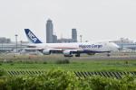 Timothyさんが、成田国際空港で撮影した日本貨物航空 747-8KZF/SCDの航空フォト(写真)
