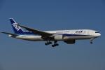 よしポンさんが、成田国際空港で撮影した全日空 777-281/ERの航空フォト(写真)