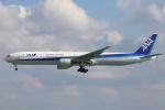 安芸あすかさんが、那覇空港で撮影した全日空 777-381の航空フォト(写真)