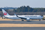panchiさんが、成田国際空港で撮影した日本航空 767-346/ERの航空フォト(写真)