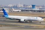 kikiさんが、羽田空港で撮影したガルーダ・インドネシア航空 777-3U3/ERの航空フォト(写真)