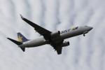 ゆういちさんが、鹿児島空港で撮影したスカイマーク 737-8ALの航空フォト(写真)