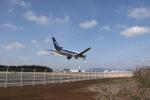 ゆういちさんが、鹿児島空港で撮影した全日空 767-381/ERの航空フォト(写真)