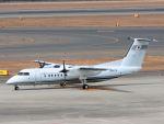 White Pelicanさんが、中部国際空港で撮影した国土交通省 航空局 DHC-8-315Q Dash 8の航空フォト(写真)