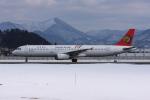 tombowさんが、山形空港で撮影したトランスアジア航空 A321-131の航空フォト(写真)