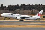 ばっきーさんが、成田国際空港で撮影した日本航空 767-346/ERの航空フォト(写真)