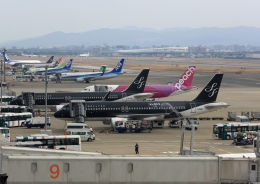 虎太郎19さんが、福岡空港で撮影したスターフライヤー A320-214の航空フォト(写真)