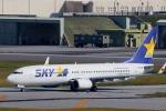 かみじょー。さんが、那覇空港で撮影したスカイマーク 737-86Nの航空フォト(写真)