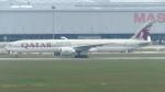 誘喜さんが、クアラルンプール国際空港で撮影したカタール航空 777-3DZ/ERの航空フォト(写真)