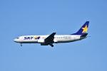 えるあ~るさんが、羽田空港で撮影したスカイマーク 737-8HXの航空フォト(写真)