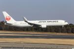 おっしーさんが、成田国際空港で撮影した日本航空 767-346/ERの航空フォト(写真)