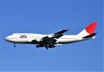 にしやんさんが、羽田空港で撮影した日本航空 747-146B/SR/SUDの航空フォト(写真)