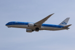 MOHICANさんが、関西国際空港で撮影したKLMオランダ航空 787-9の航空フォト(写真)