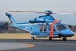(`・ω・´)さんが、立川飛行場で撮影した警視庁 AW139の航空フォト(写真)