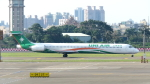 誘喜さんが、高雄国際空港で撮影した立栄航空 MD-90-30の航空フォト(写真)