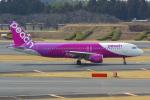 PASSENGERさんが、成田国際空港で撮影したピーチ A320-214の航空フォト(写真)