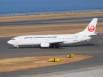 きゅうさんが、中部国際空港で撮影した日本トランスオーシャン航空 737-446の航空フォト(写真)