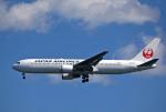 tkosadaさんが、羽田空港で撮影した日本航空 767-346の航空フォト(写真)