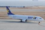 HEATHROWさんが、神戸空港で撮影したスカイマーク 737-8HXの航空フォト(写真)