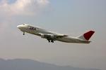 tsubameさんが、福岡空港で撮影した日本アジア航空 747-346の航空フォト(写真)