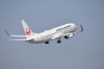 ワイエスさんが、鹿児島空港で撮影した日本航空 737-846の航空フォト(写真)