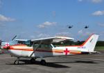 チャーリーマイクさんが、立川飛行場で撮影した個人所有 172P Skyhawk IIの航空フォト(写真)