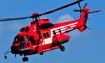 チャーリーマイクさんが、立川飛行場で撮影した東京消防庁航空隊 EC225LP Super Puma Mk2+の航空フォト(写真)