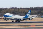 Y-Kenzoさんが、成田国際空港で撮影した日本貨物航空 747-4KZF/SCDの航空フォト(写真)