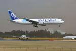ポン太さんが、成田国際空港で撮影した全日空 767-381F/ERの航空フォト(写真)