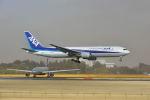 ポン太さんが、成田国際空港で撮影した全日空 767-381/ERの航空フォト(写真)