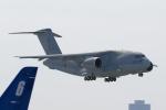 花田花男さんが、名古屋飛行場で撮影した航空自衛隊 C-2の航空フォト(写真)