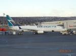 O.TAKUMAさんが、カルガリー国際空港で撮影したウェストジェットの航空フォト(写真)